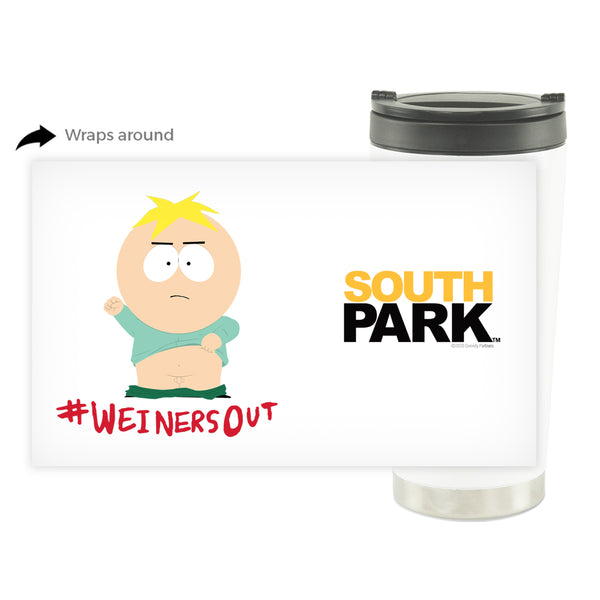 South Park Butters Weiners Out 16 oz Thermal Tumbler