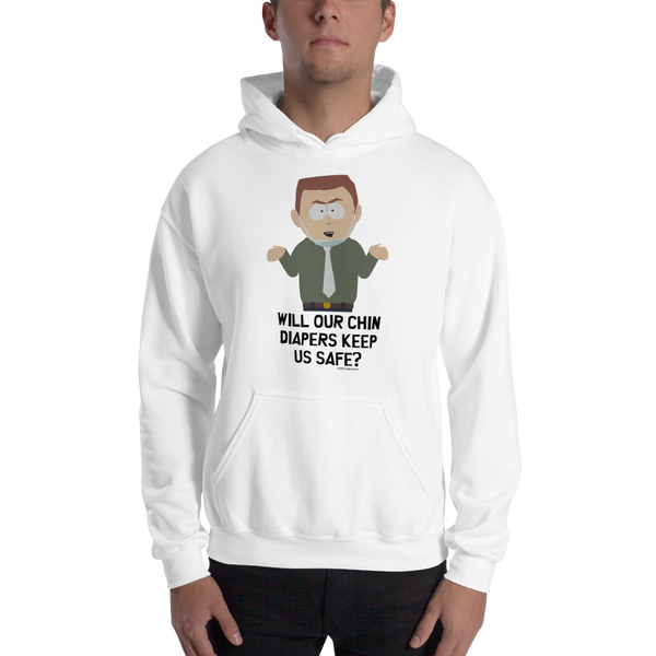 South Park Chin Diapers Hooded Sweatshirt