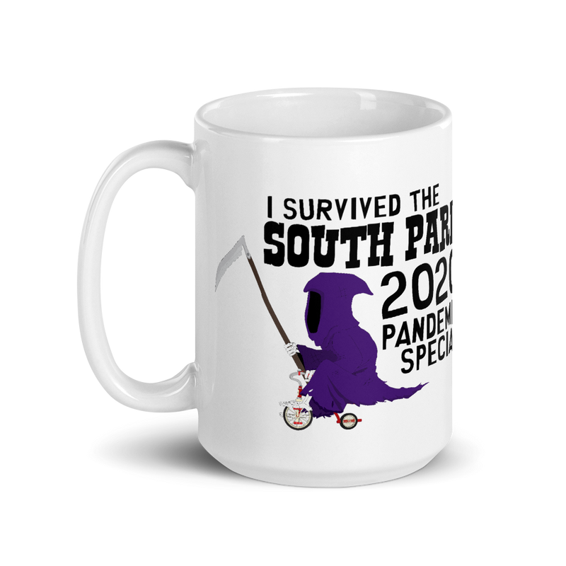 South Park I Survived the Pandemic Special White Mug