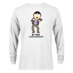 South Park Randy In Your Face Adult Long Sleeve T-Shirt