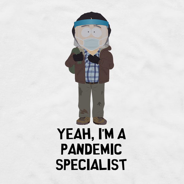 South Park Randy Pandemic Specialist Adult Long Sleeve T-Shirt