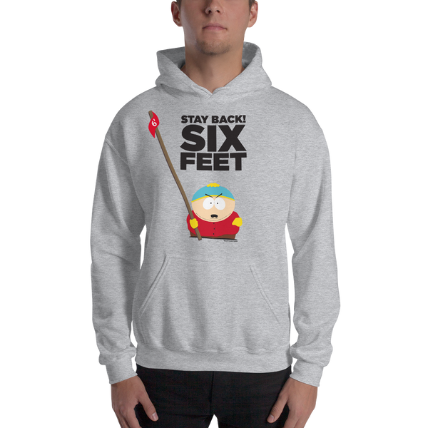 South Park Cartman Stay Back Fleece Hooded Sweatshirt