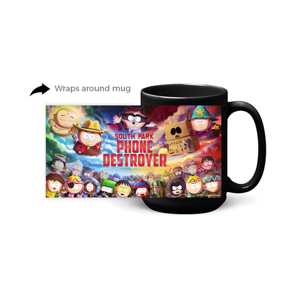 South Park Phone Destroyer White Mug