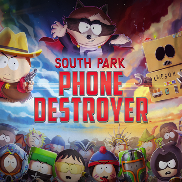 South Park Phone Destroyer Sherpa Blanket