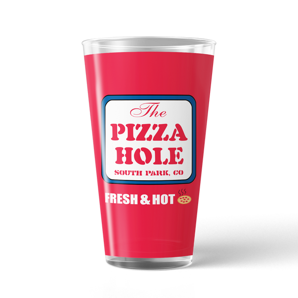 South Park The Pizza Hole 17 oz Pint Glass