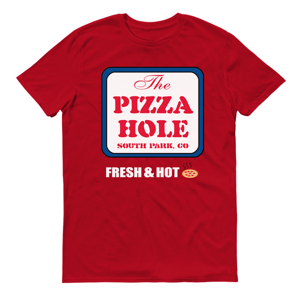 South Park The Pizza Hole Adult Short Sleeve T-Shirt