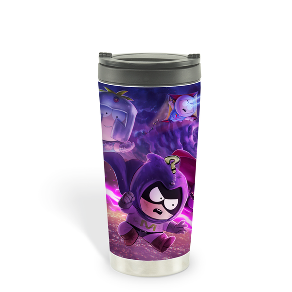 South Park Splash Superheroes 16 oz Stainless Steel Thermal Travel Mug