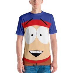 South Park Stan Big Face Adult All-Over Print T-Shirt