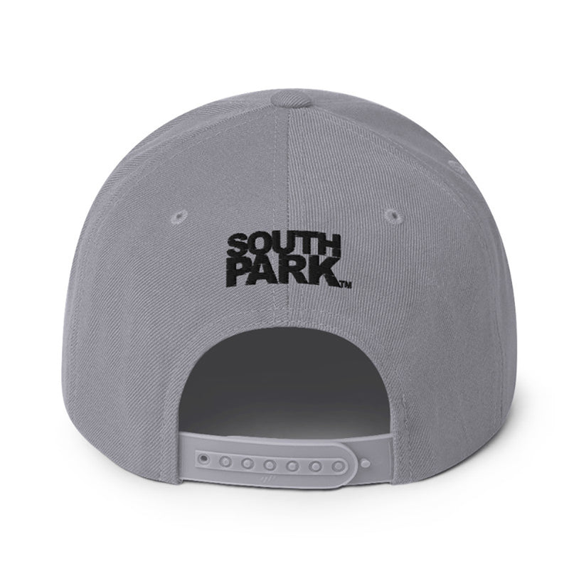 South Park Stan Embroidered Flat Bill Hat