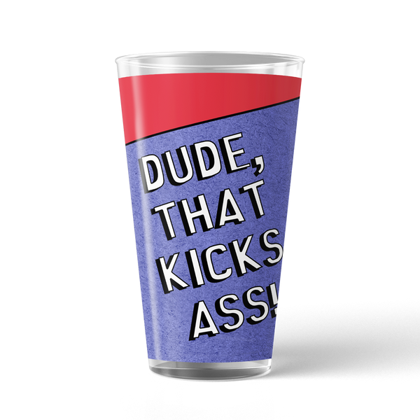 South Park Stan Kicks Ass 17 oz Pint Glass