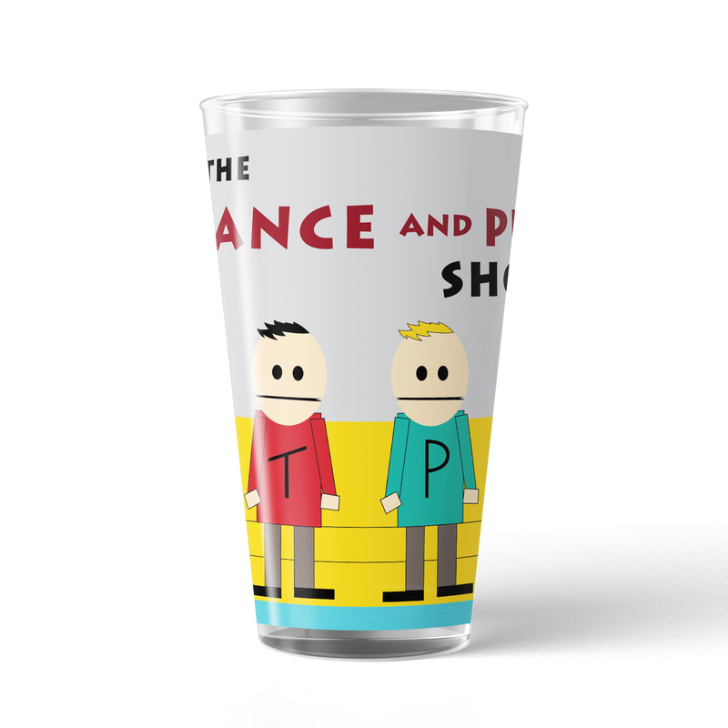 South Park Terrance & Phillip Show 17 oz Pint Glass