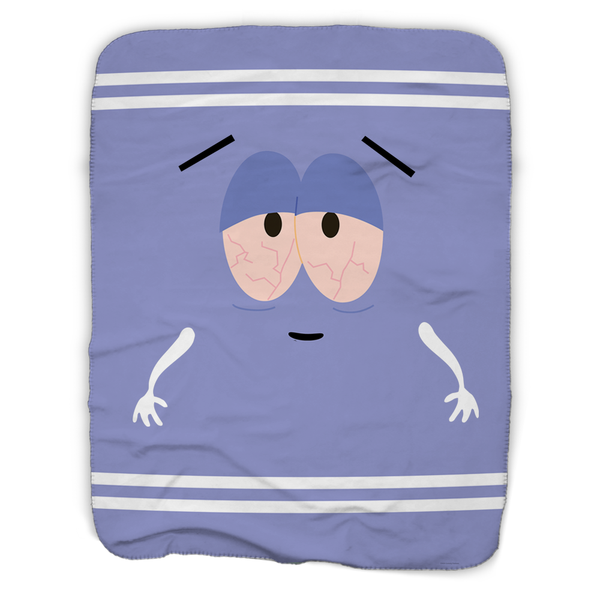 South Park Towelie Smoking Sherpa Blanket