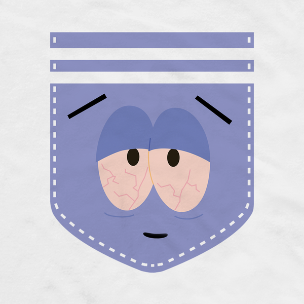 South Park Towelie Pocket Adult Short Sleeve T-Shirt
