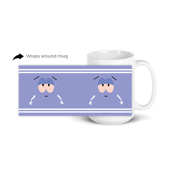 South Park Towelie White Mug