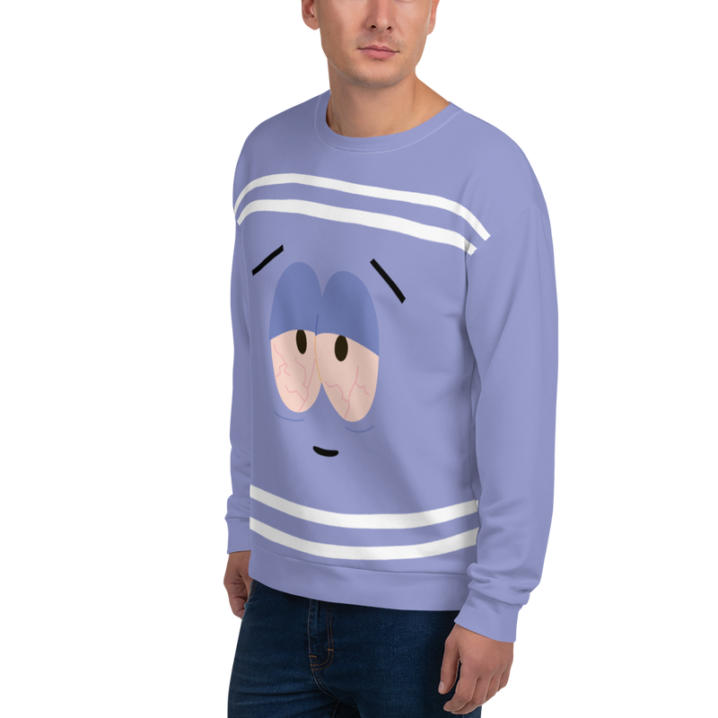 South Park Towelie Adult All-Over Print Sweatshirt