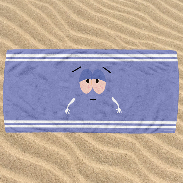 South Park Towelie Horizontal Beach Towel