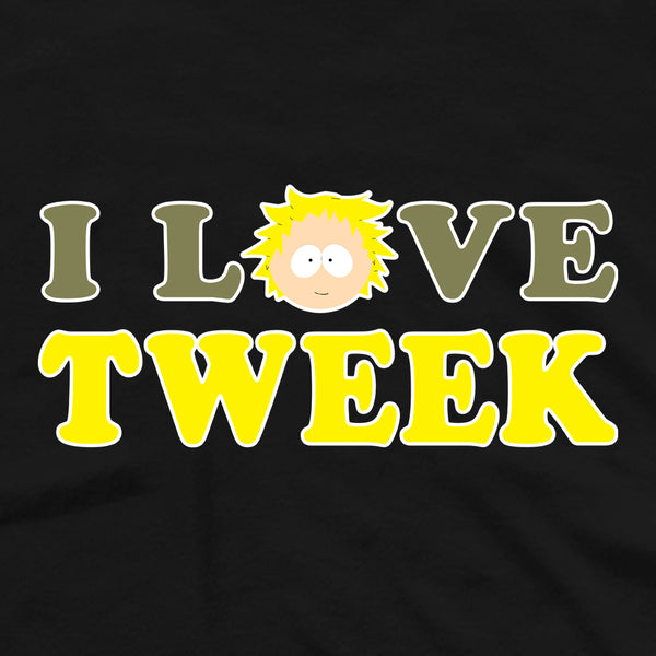 South Park I Love Tweek Adult Short Sleeve T-Shirt