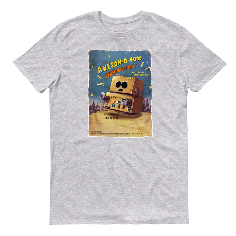 South Park  Awesom-o Adult Short Sleeve T-Shirt - SDCC Exclusive Color