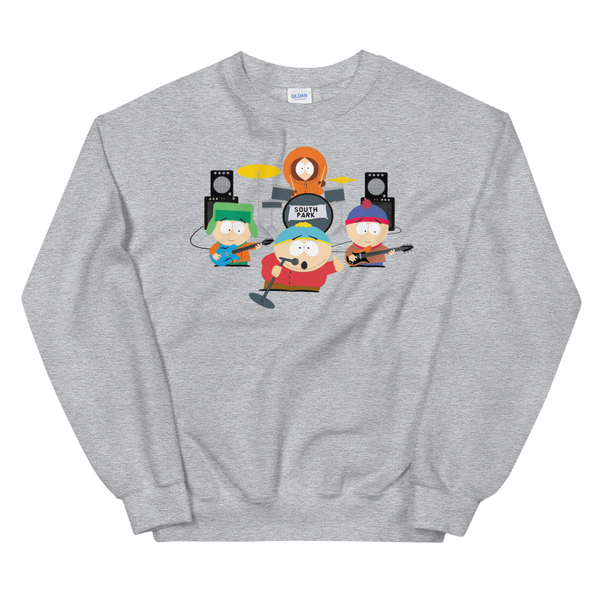 South Park Band Fleece Crewneck Sweatshirt