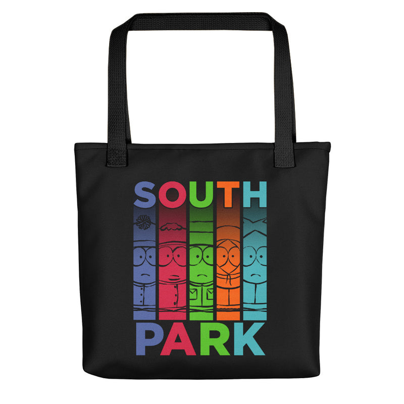 South Park Character Collage Premium Tote Bag - SDCC Exclusive Color