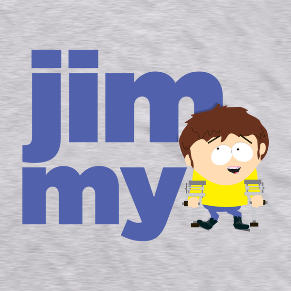 South Park Jimmy Name Adult Short Sleeve T-Shirt