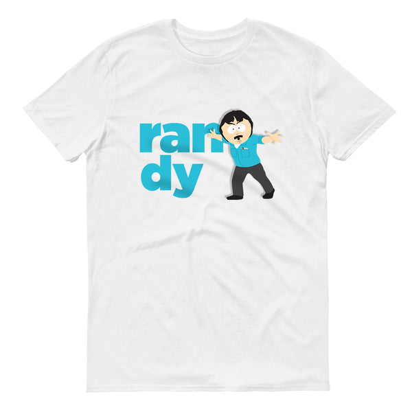 South Park  Randy Name Adult Short Sleeve T-Shirt - SDCC Exclusive Color