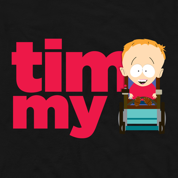 South Park Timmy Name Adult Short Sleeve T-Shirt