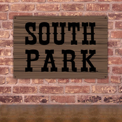 South Park Logo Metal Sign