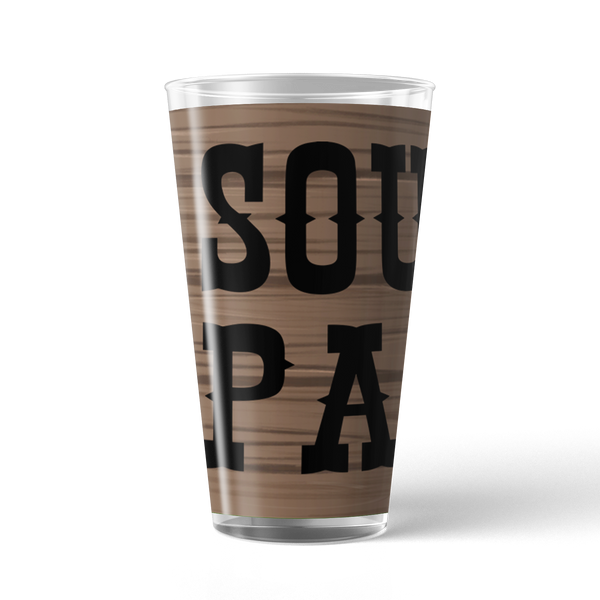South Park Logo 17 oz Pint Glass