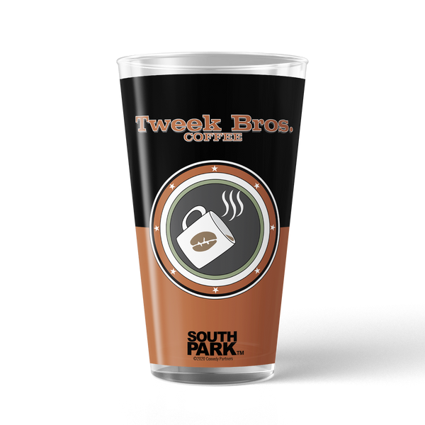 South Park Tweek Bros. Coffee Drinking Glass