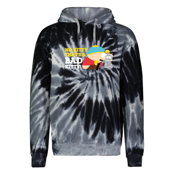 South Park Cartman Bad Kitty Tie-Dye Hooded Sweatshirt