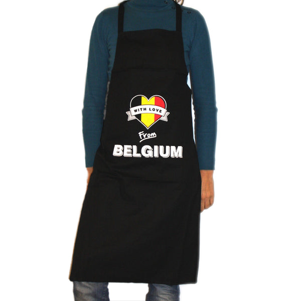 Apron 'With love from Belgium'