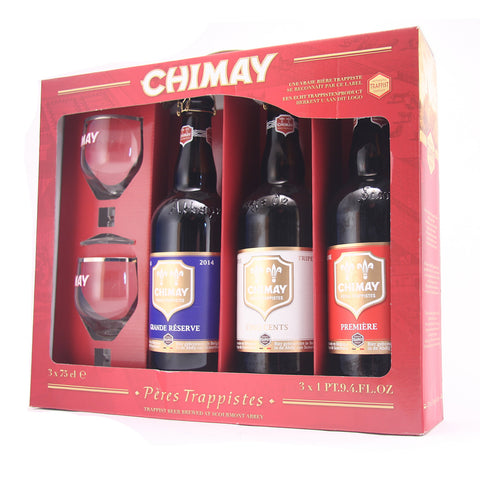 Chimay 75cl Gift Set