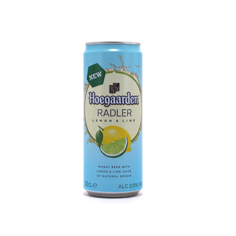 Hoegaarden Radler Lemon 33cl (can)