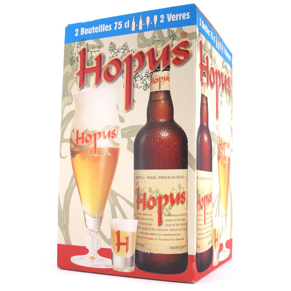 Hopus 75cl Gift Set