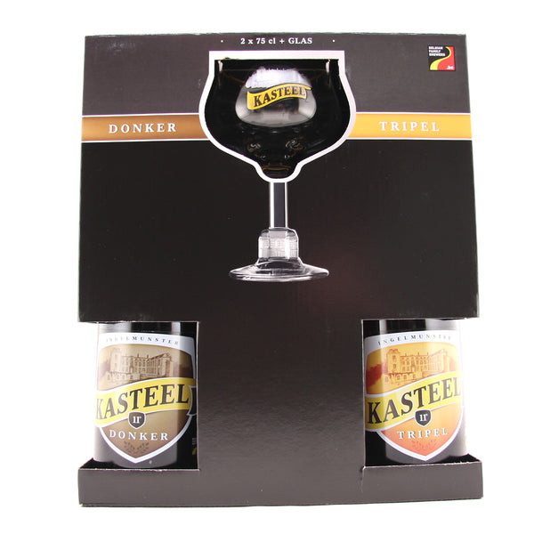 Kasteelbier 75cl Gift Set