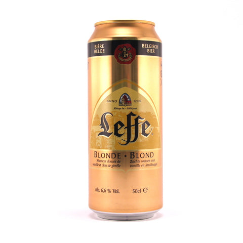 Leffe Blonde 50cl (can)