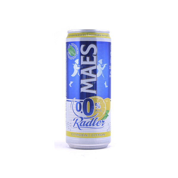 Maes Radler Citroen 0.0% 33cl (can)