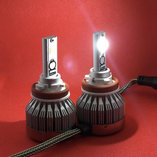 LED Headlight Bulbs - Set of 2 (Various Sizes Available) by OffroadLEDBars