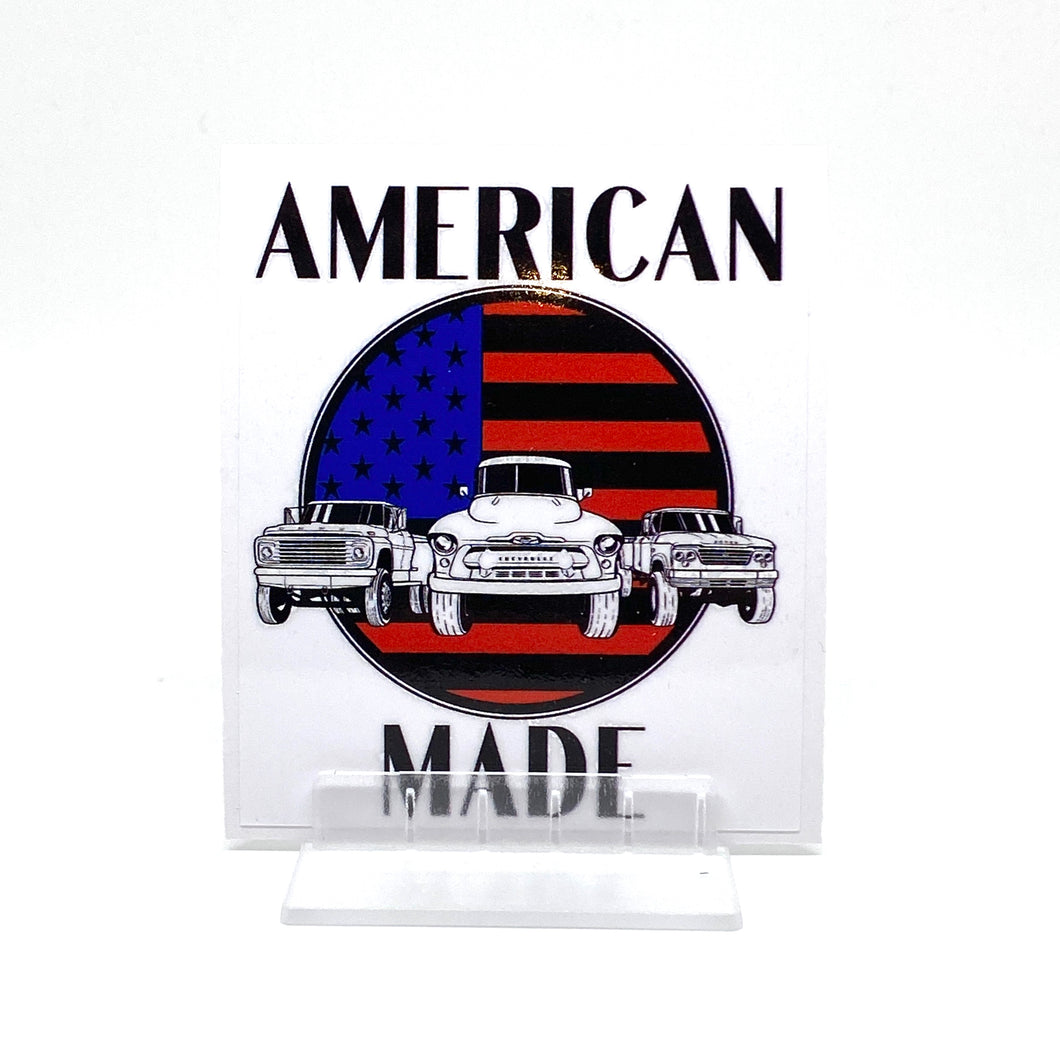 American Made Sticker
