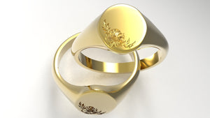 Signet Ring • Romantic CoLab with Ralph Jacobs