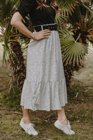 Summer Splendor Polka Prairie Skirt