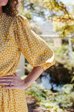Autumn Afternoon Frill Blouse