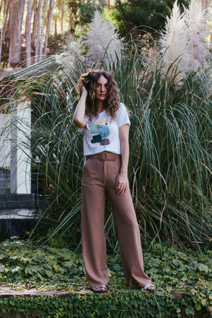 Autumn Afternoon Wide Leg Trouser