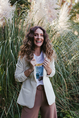 The Romantic Linen Blazer