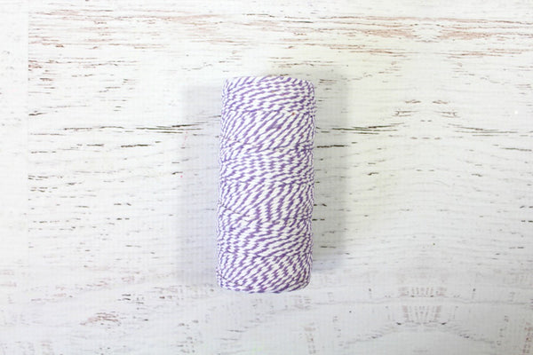 Lavender 12 Ply Bakers Twine Roll - Pop Roc Parties
