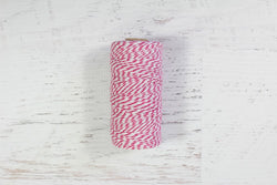 Magenta 12 Ply Bakers Twine Roll - Pop Roc Parties