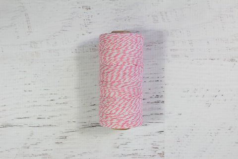 Pink 12 Ply Bakers Twine Roll