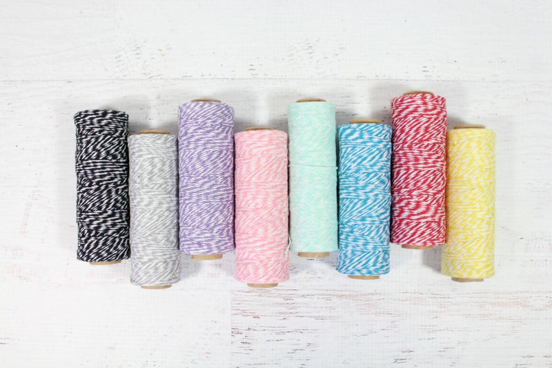 Lemon Yellow 4 Ply Bakers Twine Roll - Pop Roc Parties