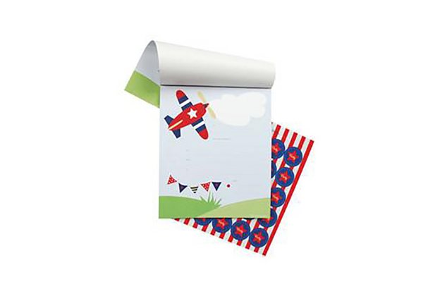 Aeroplane Invitations - Pop Roc Parties